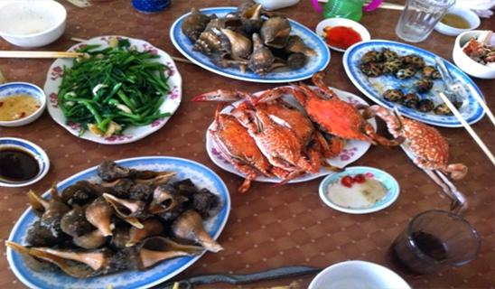 Ăn gì, uống gì khi du lịch Sầm Sơn - thổi bay mọi stress