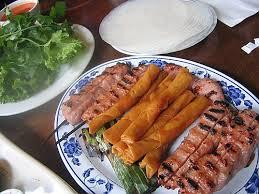 Nem nướng Ninh Hòa - du lịch Nha Trang
