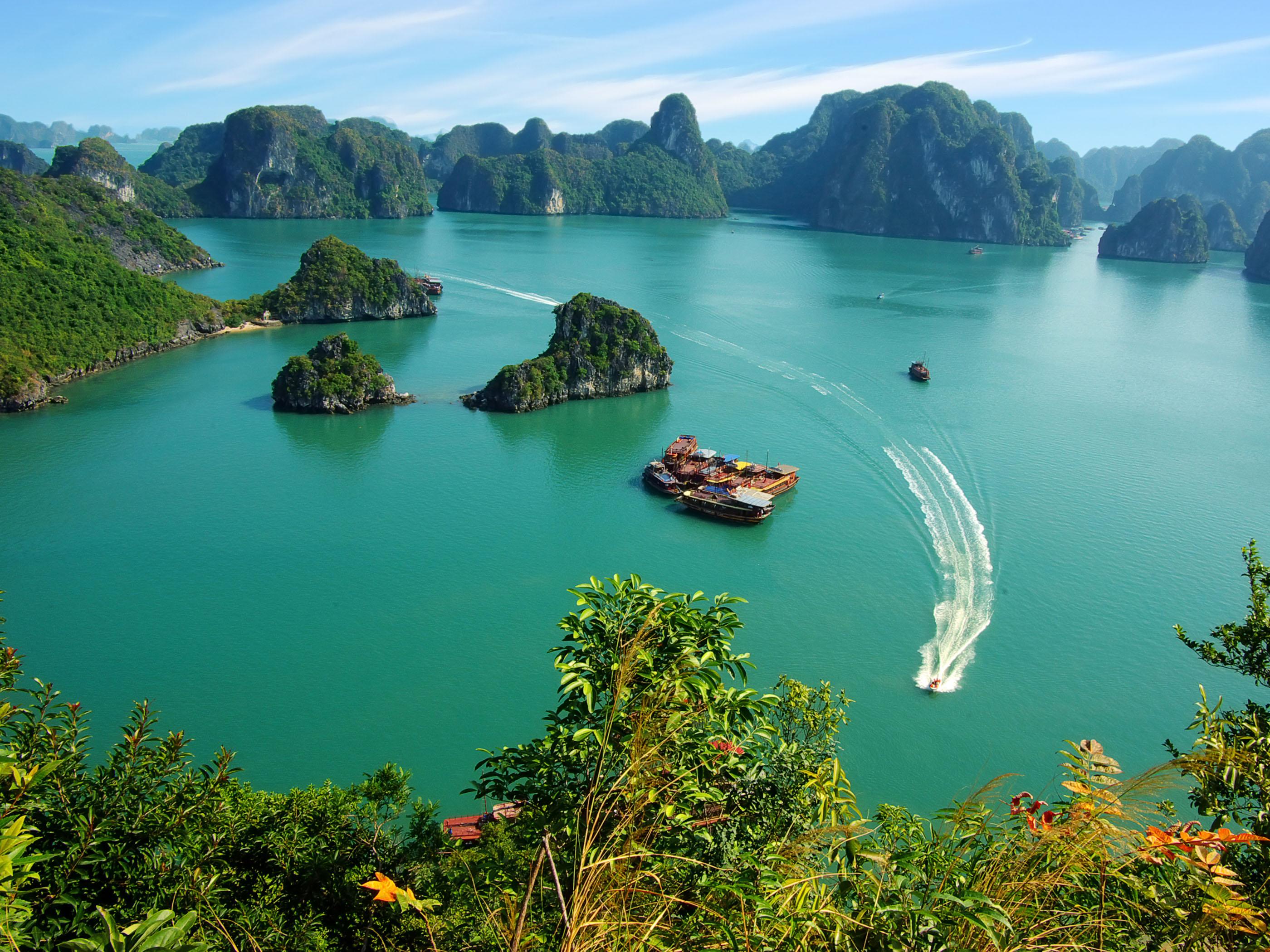 Vịnh Hạ Long được công nhận là 1 trong 7 kỳ quan thiên nhiên thế giới hiện đại