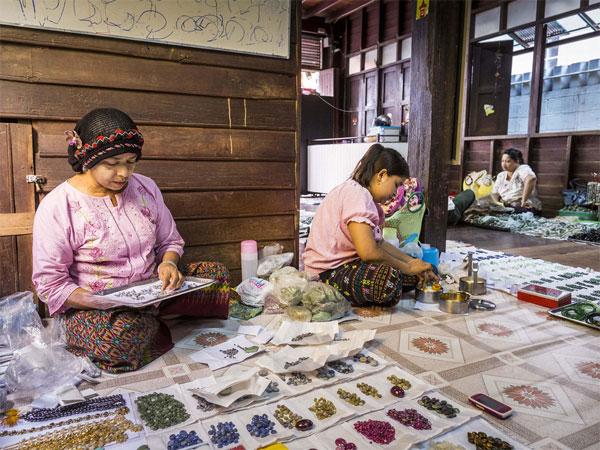 Thiên đường đá quý ở Thái Lan