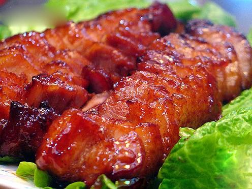 Thịt lợn bản nướng