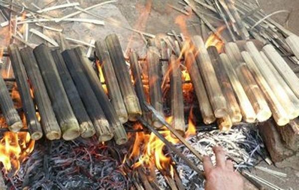 Cơm Lam thơm ngon- đặc sản Mai Châu