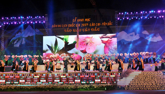 Lễ khai mạc Năm du lịch Quốc gia 2017 - Lào Cai