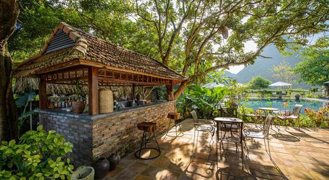Khách sạn Tam Cốc đẹp tuyệt vời, không gian thoáng mát, yên bình