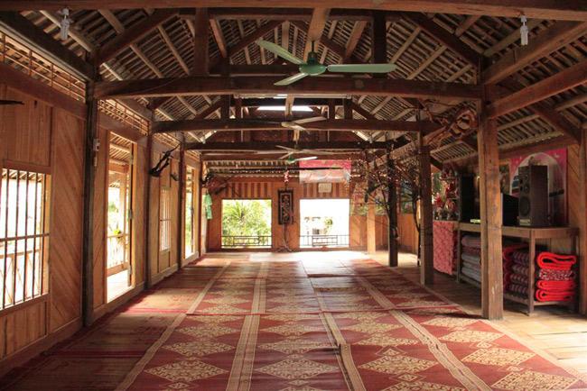 Các nhà sàn cho thuê ở Mai Châu được xây dựng to và rộng, tạo không gian thoáng mát