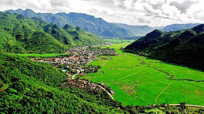 Mai Châu - Hào Bình hiện là điểm đến thu hút nhiều khách du lịch trong và ngoài nước