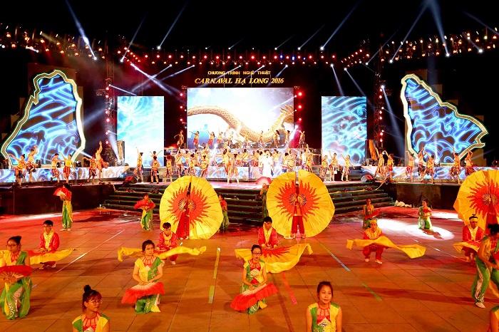 Sân khấu Carnaval Hạ Long