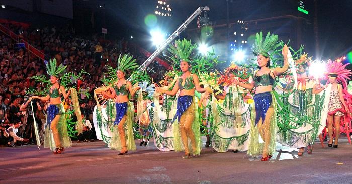 Hình ảnh rực rỡ trong lễ hội Carnaval Hạ Long