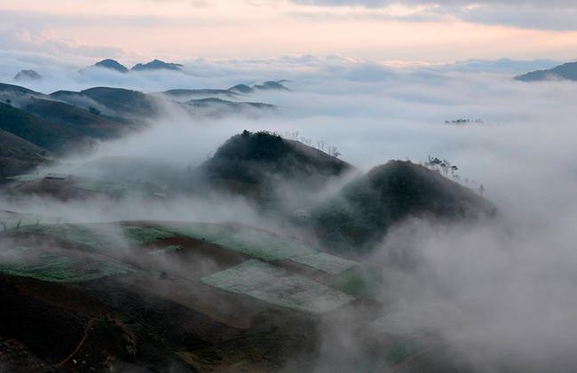 Mộc Châu – nơi sương mù giăng kín lối