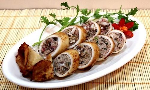 Du lịch Sầm Sơn thưởng thức món mực nhồi thịt